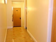 Corridor after painting and decorating